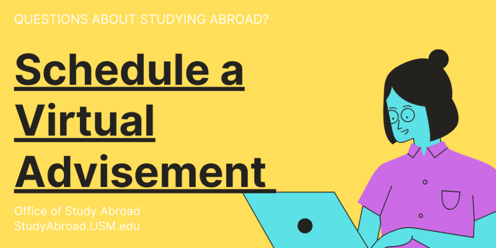 virtual advisement banner